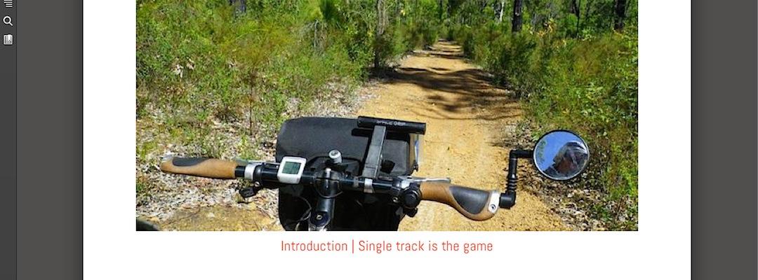 Munda Biddi Trail ebook image