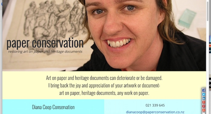 Diana Coop Conservation website image