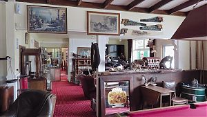 The Otira pub interior