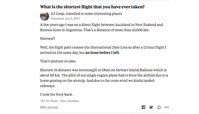 an answer gone viral