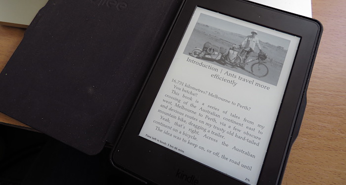 Kindle with Heading West