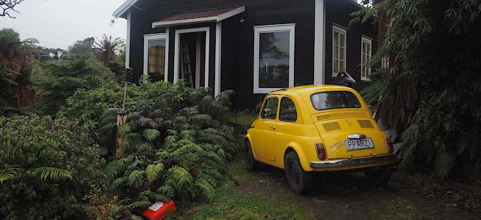 Rakiura house and car
